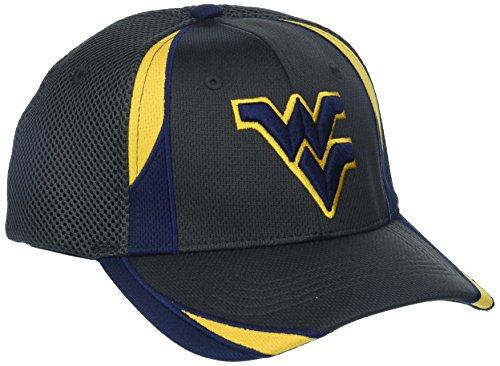 (Zephyr NCAA West Virginia Mountaineers Adult Men Torque, X-Large, Charcoal)