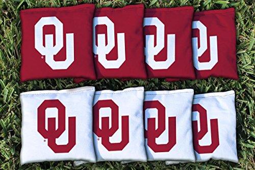 Oklahoma Bean Bag (Oklahoma Sooner Replacement Cornhole Bag Set (corn)