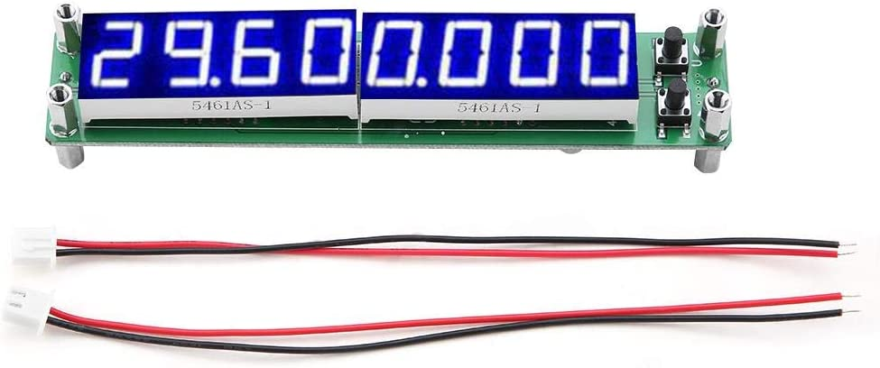 Red PLJ-8LED-H RF Signal Frequency Counter Meter Tester Module LED//Screen