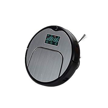 DTTX Robot de Barrido Automático Máquina Barredora Aspiradora Cepillo Bilateral Aspiración Grande Carga Automática, Plata, una: Amazon.es: Deportes y aire ...