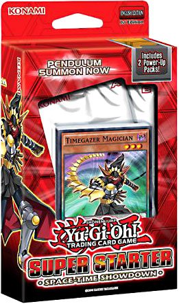 Yu Gi Oh ! Trading Cards (Yugioh 2014 Trading Card Game Super Starter Deck SPACE-TIME SHOWDOWN - 50 cards!)
