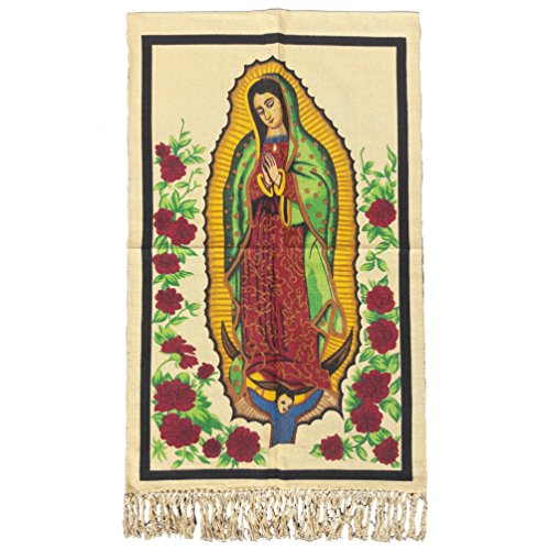 Virgen de Guadalupe Decorative Tapestry Fabric Poster (30