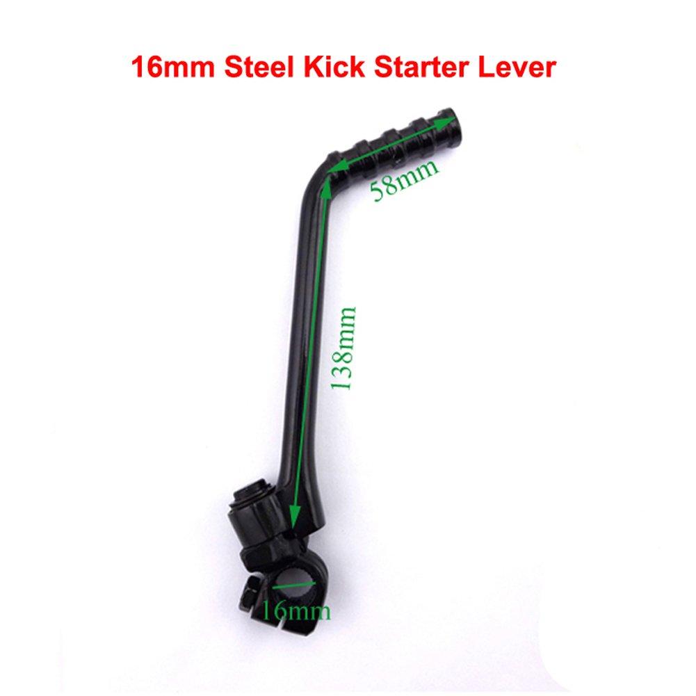 Stoneder 16/mm Kick starter Lever 140/CC 150/cc 160/CC Lifan YX cinese Pit Bike Dirt Trail