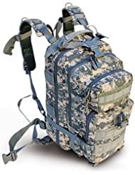 Ultimate Arms Gear ACU Army Digital Camo Camouflage Heavy Duty Combat Multi-Functional Equipment Survival Assault...