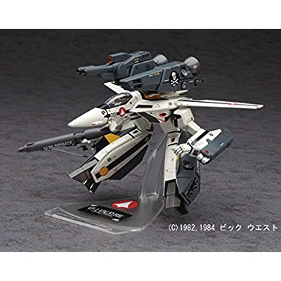 Hasegawa 1/72 The Super Dimension Fortress Macross Series No.26 VF-1S/A Strike/Super Gerwalk Valkyrie: Toys & Games