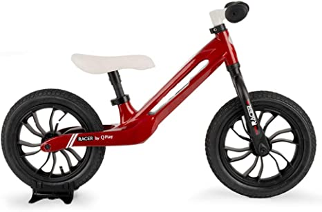 QPLAY - Bicicleta sin Pedales Tech Balance Bike Racer Roja ...