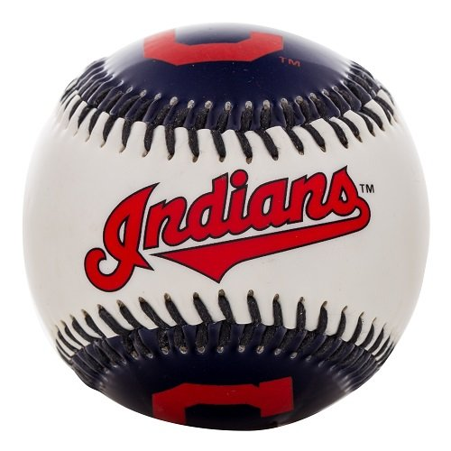 fan products of Franklin Sports MLB Cleveland Indians Team Softstrike Baseball