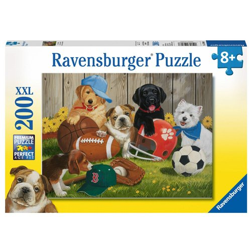 Ravensburger Let's Play Ball! Puzzle (200 (Ball Jigsaw Puzzle)