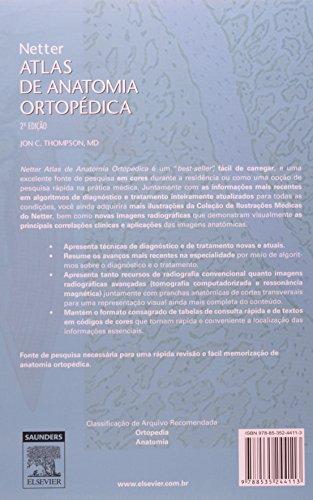 Netter Atlas de Anatomia Ortopédica