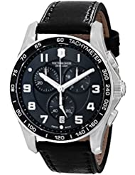 Victorinox Mens 241651 Chrono Classics XLS 45mm Black Watch