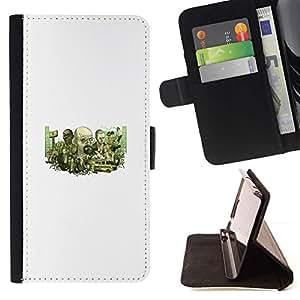 Momo Phone Case / Flip Funda de Cuero Case Cover - Meth Equipo;;;;;;;; - Sony Xperia Z1 L39
