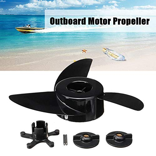 (Best Promotion 54L Electric Propellers Engines 3 Blades Boat Motor Propellers Engines Marine Outboard Propeller Accessories )