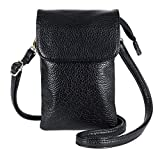 lg 2 mini accesories - Women Girl Cell Phone Bag PU Leather Crossbody Bag Mini Phone Pouch Wallet with Shoulder Strap for Apple iPhone,Samsung Galaxy S7/S7 Edge etc