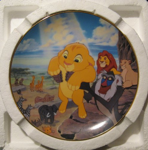- The Circle of Life Plate Number 3840 Limited Edition First Issue the Lion King