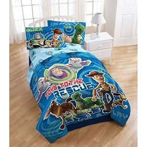 Amazon.com: Toy Story Circles Twin Comforter - Buzz ...