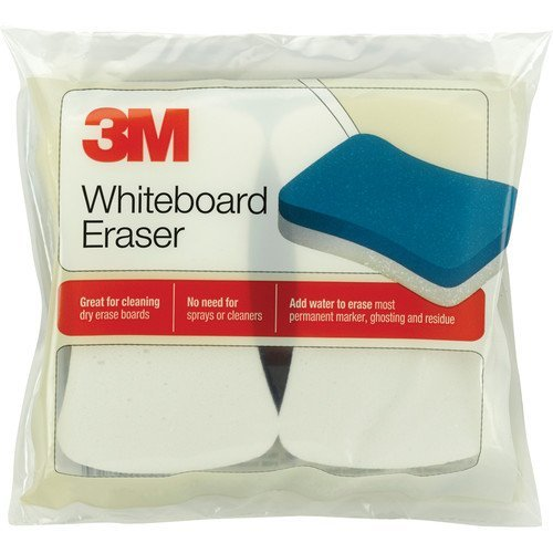 3M Whiteboard Eraser for Whiteboards, 8-Pack by 3M