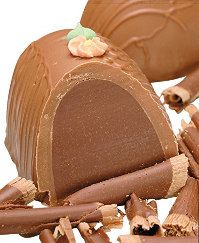 Philadelphia Candies Chocolate Meltaway Easter Egg, Milk Chocolate 8 Ounce Gift ()