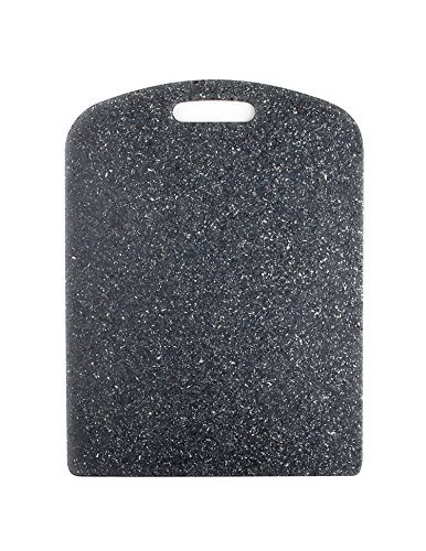 (Dexas SuperBoard Cutting Board with Rounded Corners, 12 by 16 inches, Heavy Granite Color)