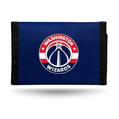Rico NBA Washington Wizards Nylon Trifold Wallet by Rico