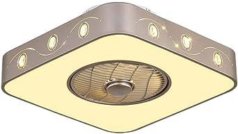 Lámpara de techo para ventilador, lámpara de techo LED moderna y ...