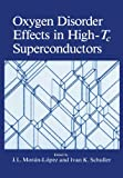 img - for Oxygen Disorder Effects in High-Tc Superconductors book / textbook / text book