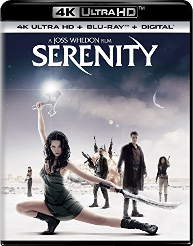 4K Blu-ray : Serenity (With Blu-Ray, Ultraviolet Digital Copy, 4K Mastering, Digital Copy, Digitally Mastered in HD)