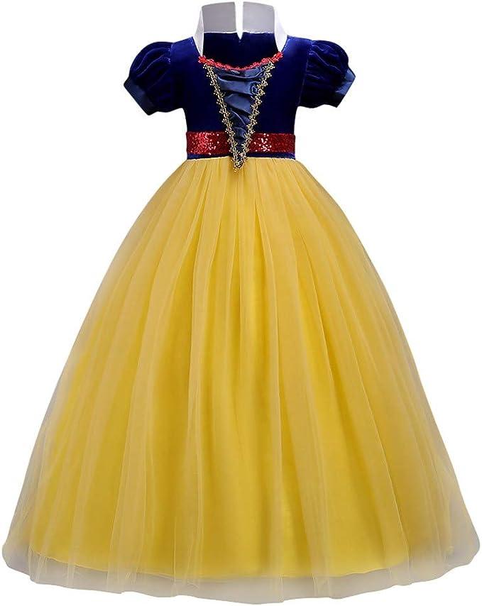 Vectry Vestido Niña Disfraz Niñas Princesa Halloween Fiesta ...