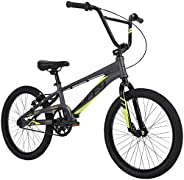 """Huffy Enigma 20"""" BMX Bike for Kids and Adults, Aluminum Alloy Frame, Racing BMX"""