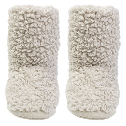 Ruby and Ed Cloud Slipper Boot, Pantofole donna beige Natural