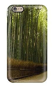 Hot Hot Design Premium Tpu Case Cover Iphone 6 Protection Case(bamboo)