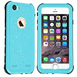 Co-Goldguard iPhone 6/6s Waterproof Case Built in Screen Protector with Touch ID IP68 Certified Underwater Cover Dustproof Snowproof Shockproof Green