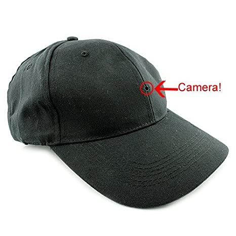 Cap with Spy Camera