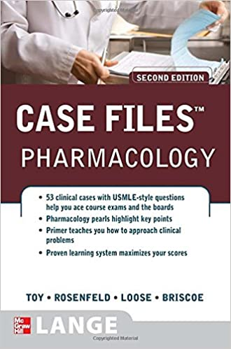 Book Case Files Pharmacology, Second Edition (Lange Case Files)