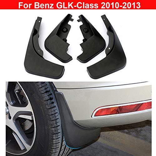4pcs plastica pneumatico parafango paraspruzzi parafanghi per B Enz glk-class 2010/2011/2012/2013/ per modelli con pedane