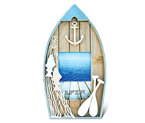 """Puzzled Evian Boat Photo Frames 3.5""""x5"""" Handcrafted Woode..."""