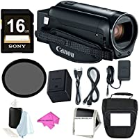 Canon VIXIA HF R800 Camcorder (Black) 16GB SDHC card + 43mm Filter + Camera Bag & Essential Bundle PLUS DIGITALUNIVERSE ACCESSORIES