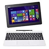 """ASUS Transformer Book 10.1"""" Detachable 2-in-1 Touchscreen Laptop (64GB) with Windows 8 - White"""