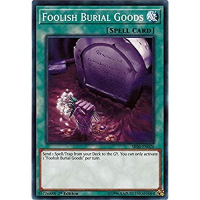 Foolish Burial Goods - SR06-EN026 - Common - 1st Edition: Toys & Games