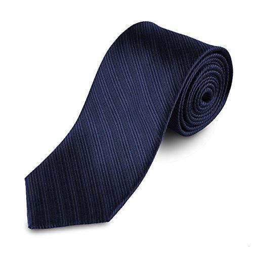 Lantier Designs Men's Classic 100% Silk Textured Necktie, 3'', ()