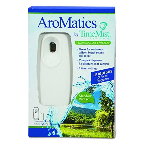 TimeMist 1047355 AroMatics Dispenser/Refill Kits, 3 oz Meado
