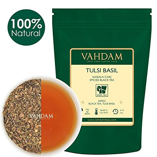 VAHDAM, Tulsi Basil Masala Chai Tea    Holy Basil Tea   T