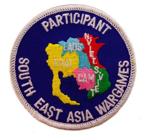 South East Asia War Wargames Participant Vietnam Iron on Patch HONFL1096