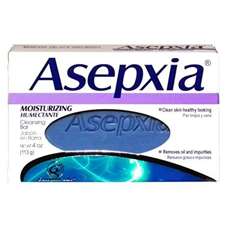 Asepxia Moisturizing Cleansing Bar Soap 4 oz (Pack of 2) ()