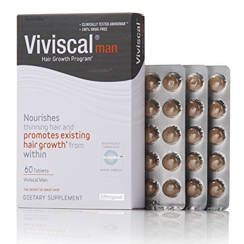 : Viviscal Man Maximum Strength Hair Nourishment System, 60 Tablets(for men)