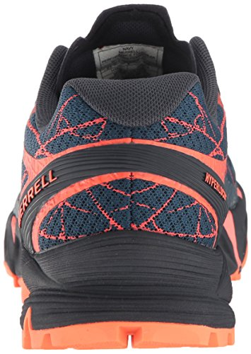 Trail US Women's Runner Agility Navy 7 Merrell Flex 5 Peak M davBnqI