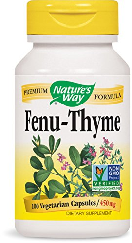 Natures Way Fenu Thyme 450 Capsule product image