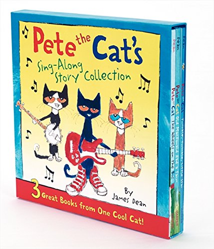 Pete the Cat's Sing-Along Story Collection: 3 Great Books from One Cool Cat (Top 10 Sing Along Songs)
