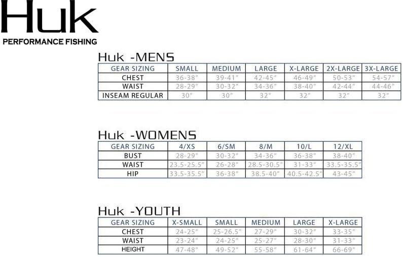 HUK Performance Fishing Herren Lang/ärmlig Double Header Long Sleeve