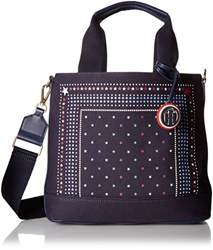 Tommy Hilfiger Bag for Women Nia Convertible Tote, Navy