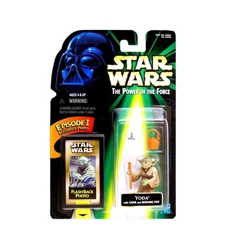 Star Wars: Power of the Force Flashback Yoda Action Figure